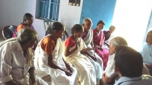 Pensioners at PANDIMANPARA